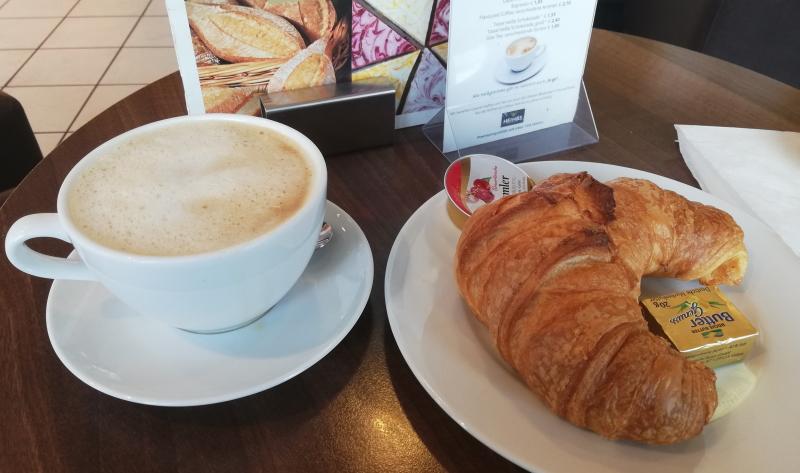 Frühstücken in Heidelberg: In der Bäckerei Riegler gibt es die unterschiedlichsten Frühstücksvariationen.