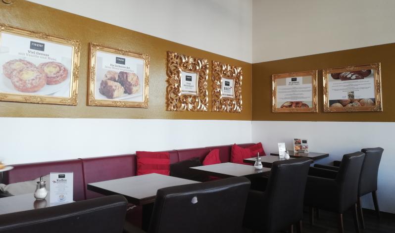 Die gemütliche Riegler Backstube bietet genügend Raum, um sein Frühstück entspannt zu genießen.