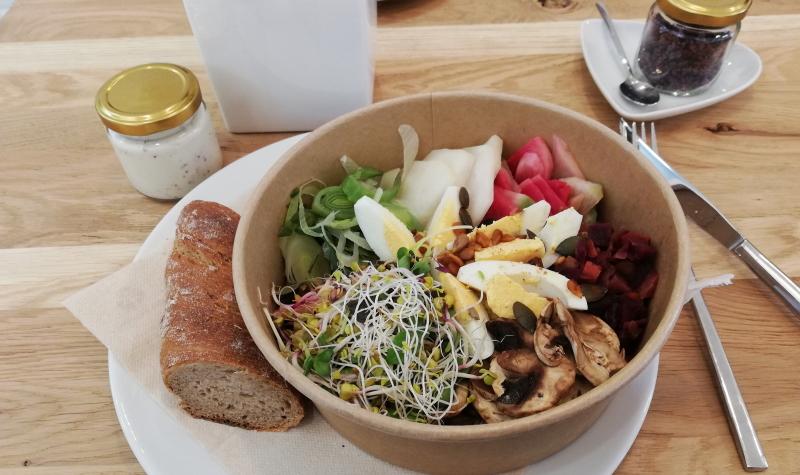 Mein absolutes Highlight im Frischemacher Foodstore Heidelberg: Thomas' Choice Herbst Bowl.