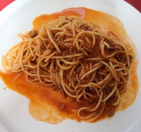 Der Klassiker: Spaghetti Bolognese.